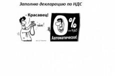 Заполню декларацию по УСН 25 - kwork.ru