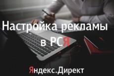 Настройка Яндекс. Директ, РСЯ 10 - kwork.ru