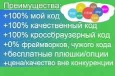 Напиcание, внедрение скриптов для сайта 7 - kwork.ru