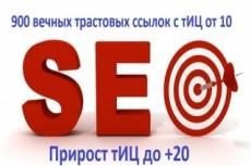 22 мощных ссылки с трастовых сайтов с высоким тиц 23 - kwork.ru