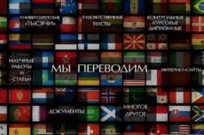 Переведу текст с/на английский и испанский 4 - kwork.ru