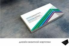 Сделаю 3 варианта Вашей визитки с логотипом 13 - kwork.ru