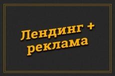 Сделаю красивый лендинг 128 - kwork.ru