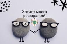 13 рефералов, 100% гарантия 8 - kwork.ru