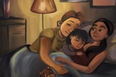 Иллюстрации для детских книг и журналов 28 - kwork.ru