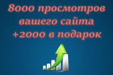 5000 просмотров сайта+ 1500 в подарок 20 - kwork.ru