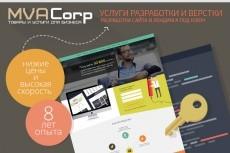 Разработаю 1 листовку / приглашение / афишу/ флайер 25 - kwork.ru