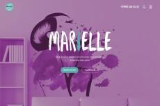 Красочный дизайн экрана вашего сайта, Landing Page 40 - kwork.ru