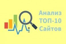 Анализ конкурентов 17 - kwork.ru