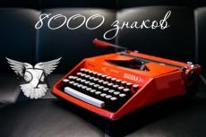 напишу качественный текст до 6000 символов 5 - kwork.ru