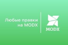 Корректировка сайтов на CMS MODX 8 - kwork.ru