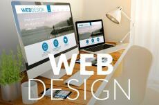 Создам дизайн для вашего сайта 40 - kwork.ru