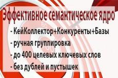 Сбор ключевых слов для контекстной рекламы или семантического ядра 10 - kwork.ru