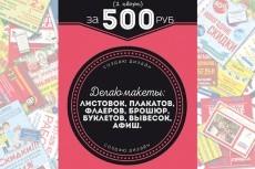 флаер, листовка, буклет 30 - kwork.ru