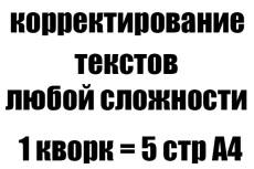 Перевожу из аудио или видео в текст любой сложности 4 - kwork.ru