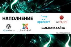 Микроразметка для OpenСart 15 - kwork.ru