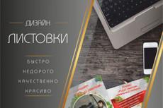 Создание листовок 44 - kwork.ru