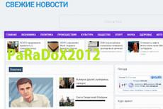 Продам сайт СМИ + 8000 контента, автонаполнение, english 12 - kwork.ru