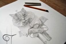 Нарисую иллюстрацию или персонажа 9 - kwork.ru