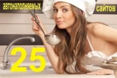 Сайт кулинария, рецепты, новости, и 700 новостей + бонус 11 - kwork.ru