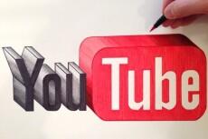 Добавлю 2000 просмотров в Youtube 10 - kwork.ru