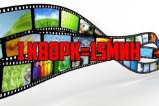 Монтаж, нарезка, склейка, наложение звука на видео 15 - kwork.ru