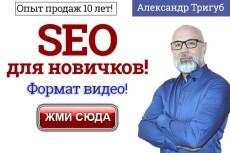 Целевые ключи из базы MOAB PRO - источник слов Яндекс. Метрика 10 - kwork.ru