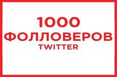 1000 подписчиков Facebook 5 - kwork.ru