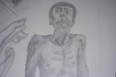 Рисунок - портрет 21 - kwork.ru