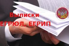 Срочная выписка из егрюл, егрип с ЭЦП 14 - kwork.ru