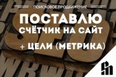 Установка и базовая настройка счетчика Яндекс Метрика 17 - kwork.ru