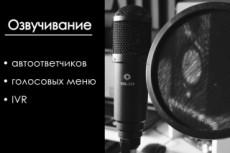 Автоответчик, Голосовое меню 9 - kwork.ru