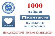 1000 подписчиков Инстаграм 4 - kwork.ru