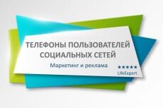Посчитаю пересечения аудитории в каналах Telegram 14 - kwork.ru