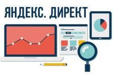 настрою рекламную кампанию в директе 3 - kwork.ru