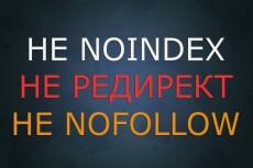 Правильная настройка файла robots.txt — залог успеха продвижения 30 - kwork.ru