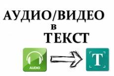 Напечатаю текст вручную. Грамотно 21 - kwork.ru
