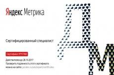 Новый Сертификат Яндекс Директ. Помощь в сдаче экзамена Яндекс Директ 12 - kwork.ru
