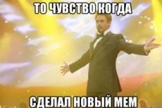 Сделаю любые 15 мемов с вашим тестом 11 - kwork.ru