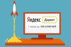 Ведение рекламных кампании в Яндекс Директ 24 - kwork.ru