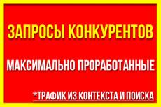 Выгрузка запросов конкурентов через Keys. so 9 - kwork.ru