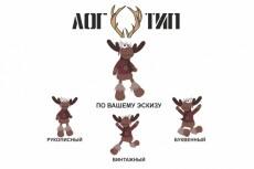 Перерисую растровую картинку в вектор 47 - kwork.ru