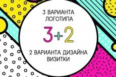 Сделаю логотипы,дизайн фирменных носителей 26 - kwork.ru
