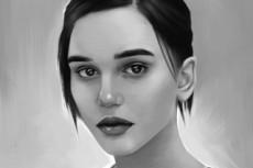 Портрет Поп Арт 30 - kwork.ru