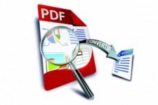 Переведу PDF и jpeg в word ( до 200 страниц) 22 - kwork.ru