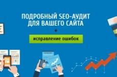 Комплексный анализ сайта. Поиск ошибок, мешающие выходу в ТОП 27 - kwork.ru