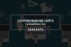 Конвертация сайта с DLE на Wordpress 14 - kwork.ru