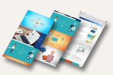 Профессиональный дизайн Landing Page один блок 28 - kwork.ru