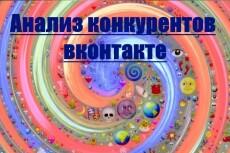 Анализ группы в вк 4 - kwork.ru
