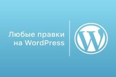 Правки на Вашем сайте с CMS WordPress 3 - kwork.ru